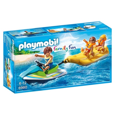 Playmobil Floating Personal Watercraft With Banana Boat