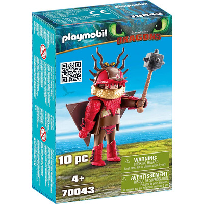 Playmobil DreamWorks Dragons Snotlout With Flight Suit