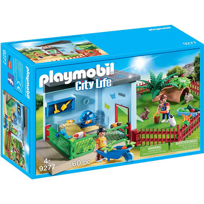 Playmobil Small Animal Boarding With Hamster Wheel