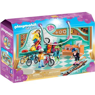 Playmobil Bike & Skate Shop With Ramp