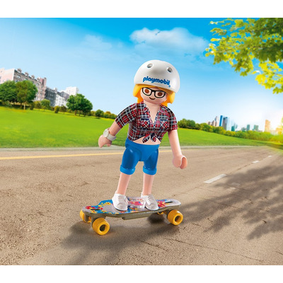 Playmobil Collectable Skateboarder
