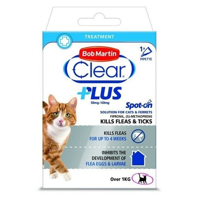 Bob Martin Clear Plus Spot-On Cat