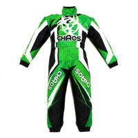 Chaos Kids Off Road Motocross Suit Green