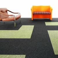 Paragon Macaw Stripe Carpet Tile Jet Quartz