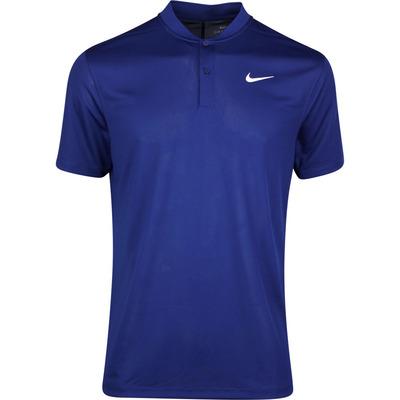 Nike Golf Shirt NK Dry Victory Blade Blue Void SS20