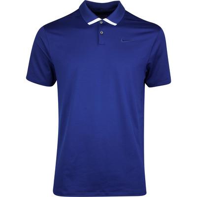 Nike Golf Shirt NK Dry Vapor Solid Blue Void SS20