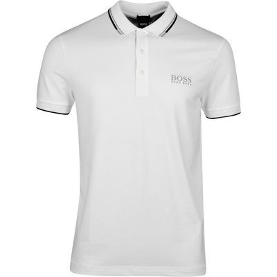 BOSS Golf Shirt Paddy Pro Training White SP20