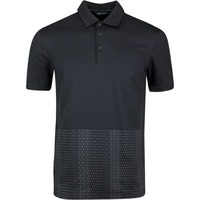 Image of adidas Golf Shirt - Adicross Novelty Print Polo - Black SS20