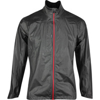 Galvin Green Waterproof Golf Jacket - Ashton Shakedry - Grey - Red SS20