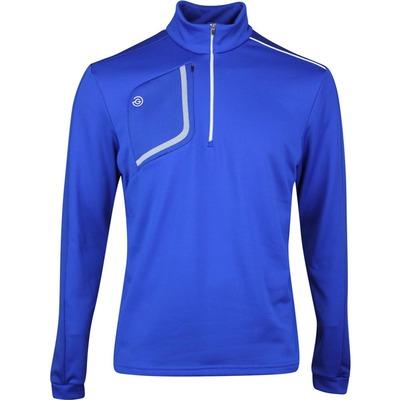 Galvin Green Golf Pullover Dwight Insula Surf Blue SS20