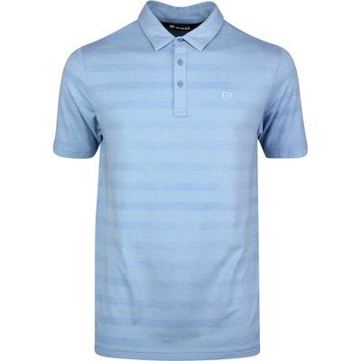 TravisMathew Golf Shirt Heater Stripe Polo Htr Allure SS20