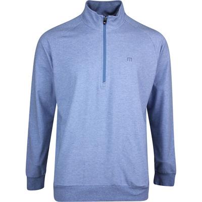 TravisMathew Golf Jumper Zachary HZ Htr Light Blue SS20