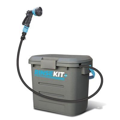 RinseKit Plus Portable Pressurised Dog / Camping Shower / Sprayer