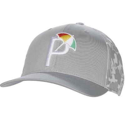 PUMA Golf Cap Arnold Palmer Umbrella P 110 Grey Camo 2020