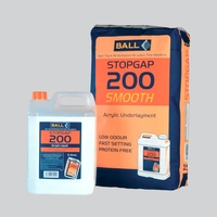 F Ball Stopgap 200 Acrylic Floor Smoothing Underlayment 25Kg