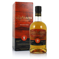 GlenAllachie 9 Year Old Rye Wood 2020 Release