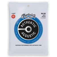 Martin Authentic Acoustic Bronze 12 Light Guitar Strings