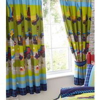 Diggers and Trucks Curtains 54s