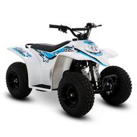 Image of SMC Cub 50cc Petrol Blue Kids Quad Bike
