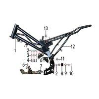 M2R KMX-R 160 Pit Bike Frame Engine Hanger Bolt