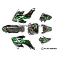 M2R KX140F Carbon Pit Bike Plastics - CRF50 - Fun Bikes & Quads
