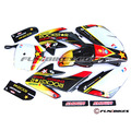Pit Bike CRF70 Plastics + Graphic Set - Rockstar - Fun Bikes & Quads
