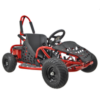Image of FunBikes Funkart 1000w Red Electric Kids Go Kart