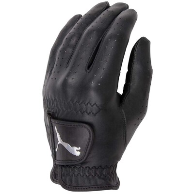 Puma All Leather Performance Golf Glove Black AW15