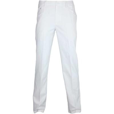 Puma 6 Pocket Golf Trousers White AW15
