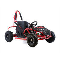 Image of FunBikes Funkart 79cc Red Kids Go Kart