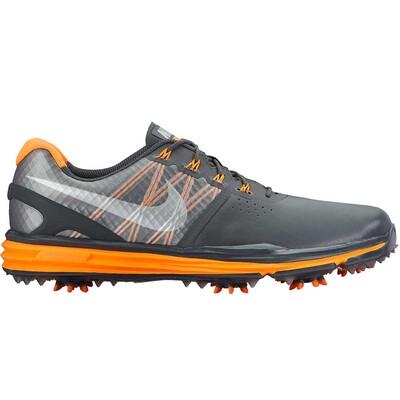 Nike Lunar Control 3 Golf Shoes Dark Grey Orange AW15