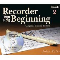 Image of Recorder From The Beginning Pupil Book 2 with CD