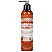 Image of Dr-Bronners-Organic-Orange-Lavender-Hand-and-Body-Lotion-237ml