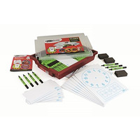 Image of 121 Piece Combination Gratnell Tray Pack Telling the Time