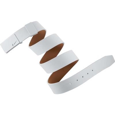Nike Golf Belt Sleek Modern Tonal Plaque White AW16