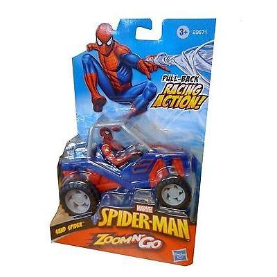Spider Man Zoom N Go Vehicles   Sand Spider