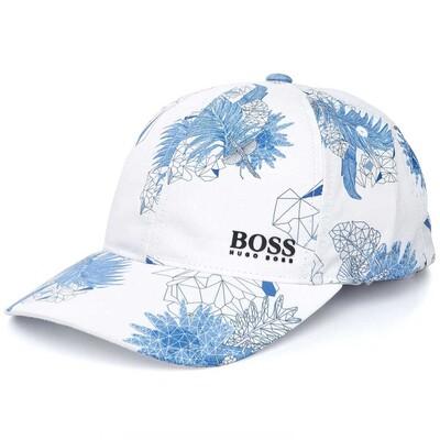 Hugo Boss Golf Cap Botanic Print Training White SP16