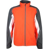 Galvin Green Waterproof Golf Jacket - ASTON Red Orange