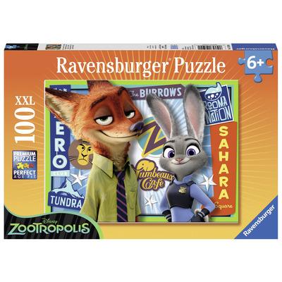 Ravensburger 10599 Disney Zootropolis Jigsaw Puzzle 100 Piece