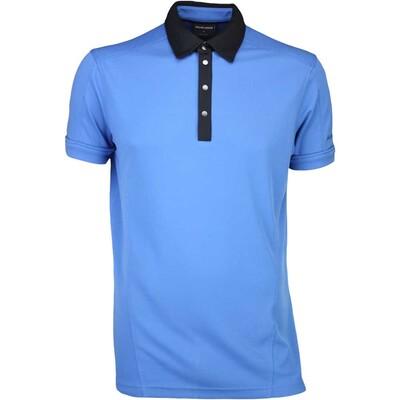 Galvin Green Golf Shirt MAJOR Imperial Blue SS16