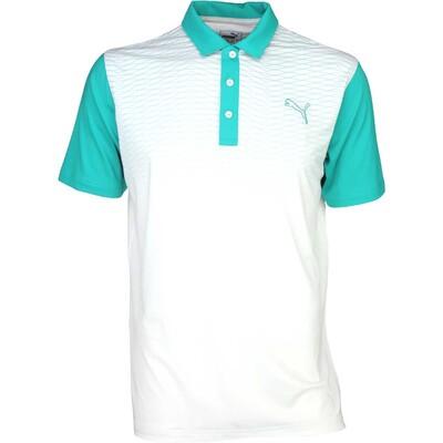 Puma Golf Shirt GT Colourblock Fade Columbia SS16