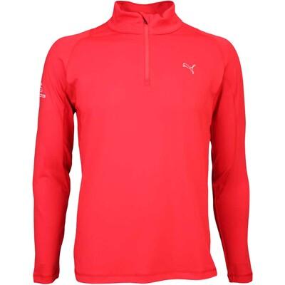 Puma Golf Pullover Cobra Branded Tech Popover Red SS16