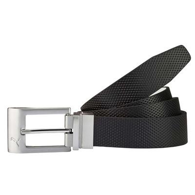 Puma Golf Belt Reversible Back Spin Black White AW16