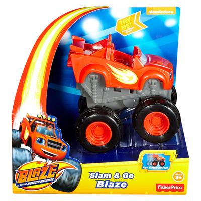 Fisher Price Nickelodeon Blaze And The Monster Machines Slam & Go Blaze