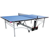 Butterfly Spirit 12 Rollaway Outdoor Table Tennis Table - Blue