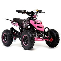 Image of FunBikes 49cc Black Kids Big Wheel Mini Quad Bike