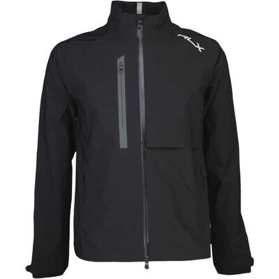 RLX Golf Waterproof Iron Jacket Polo Black AW16