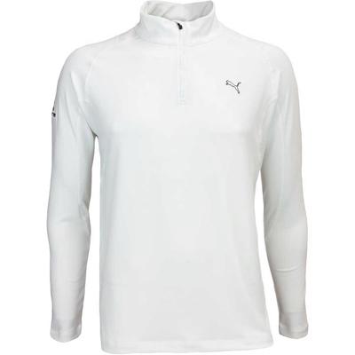 Puma Golf Pullover Cobra Branded Tech Popover White AW16