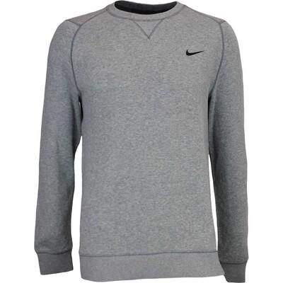 Nike Golf Jumper RANGE Crew Sweater Carbon Heather SS17