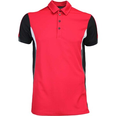 Galvin Green Golf Shirt MAPPING Ventil8 Electric Red AW16
